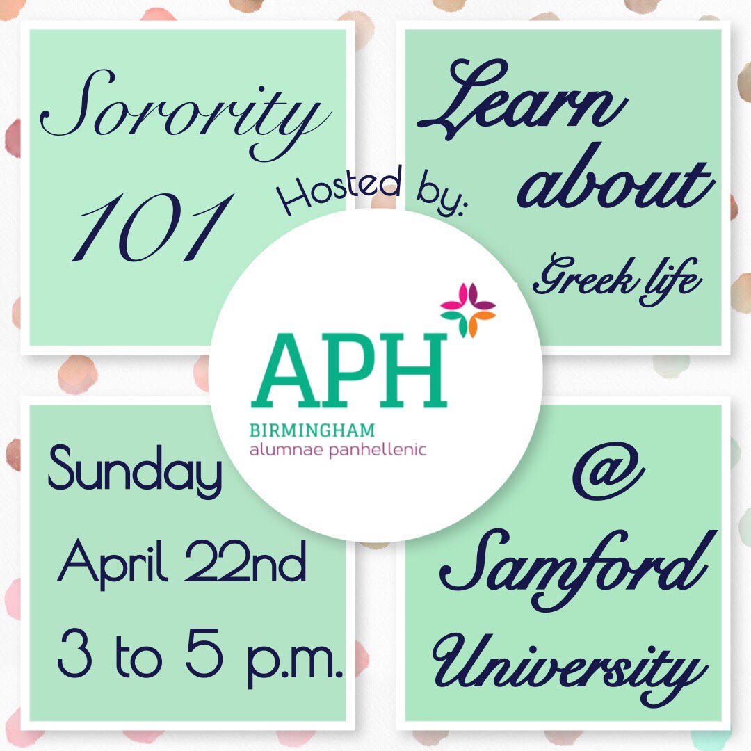 2018 Sorority 101 Save the Date